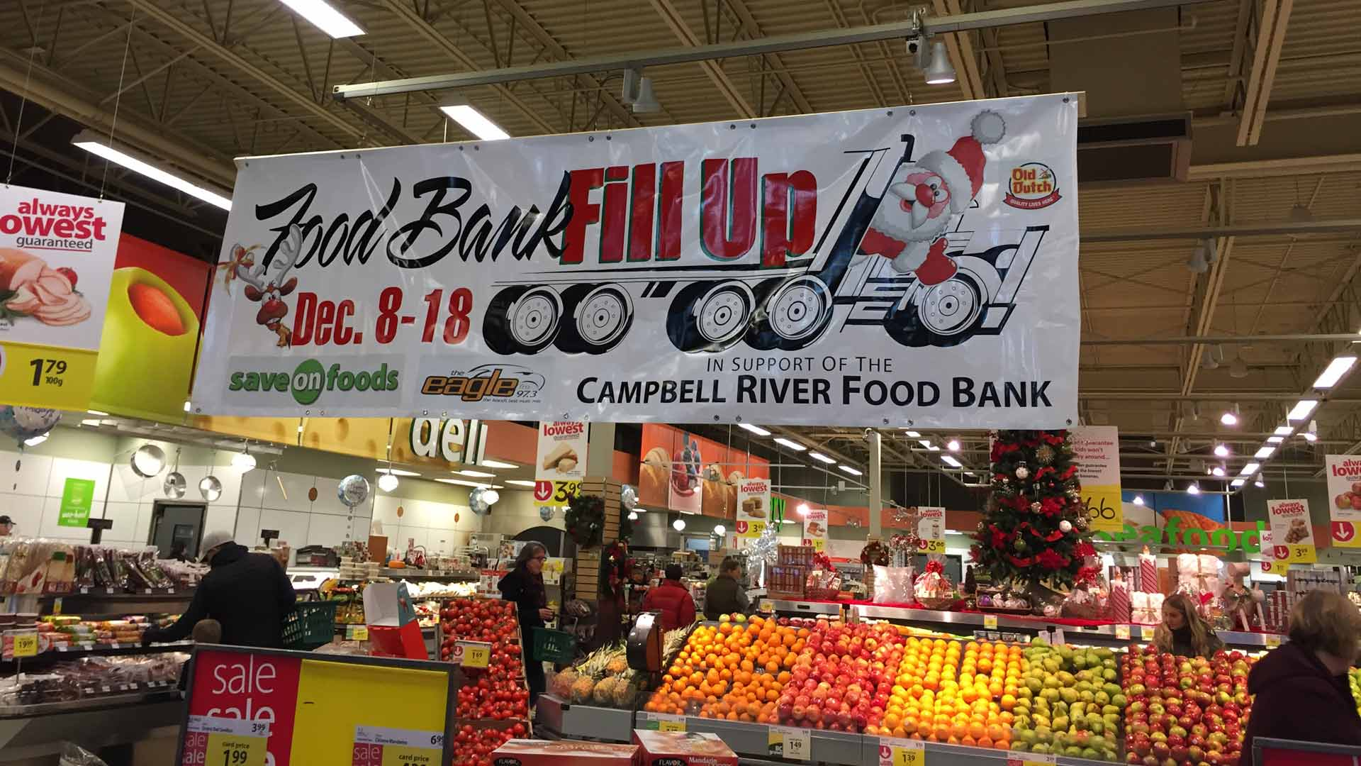 Campbell River Food Bank - Donate