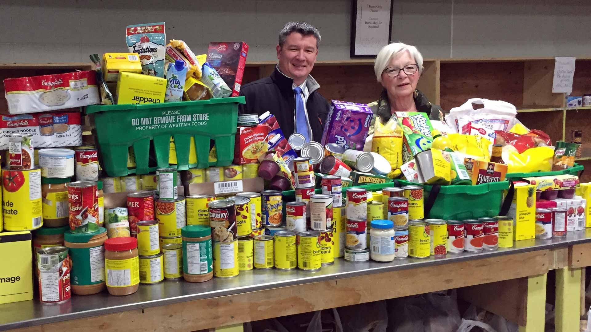 Campbell River Food Bank - People in need